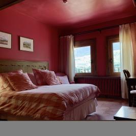 Chambre double avec vues Hotel Aran la Abuela Vielha