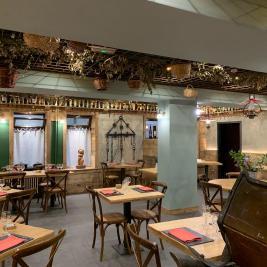 Intérieur restaurant Hotel Aran la Abuela Vielha